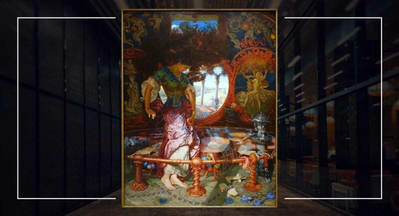 The Lady of Shalott - William Holman Hunt
