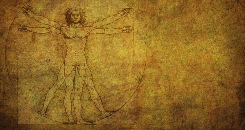 Vitruvius Adamı - Leonardo da Vinci