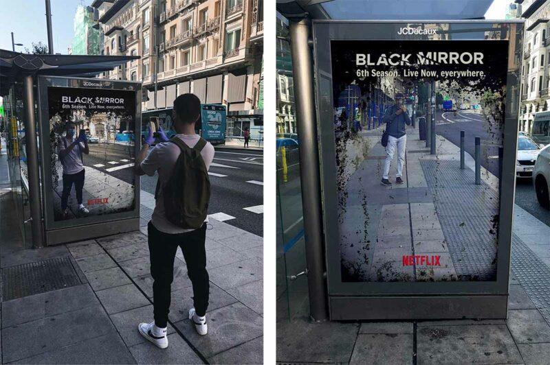 black mirror 6 sezon yayında reklam çalışması