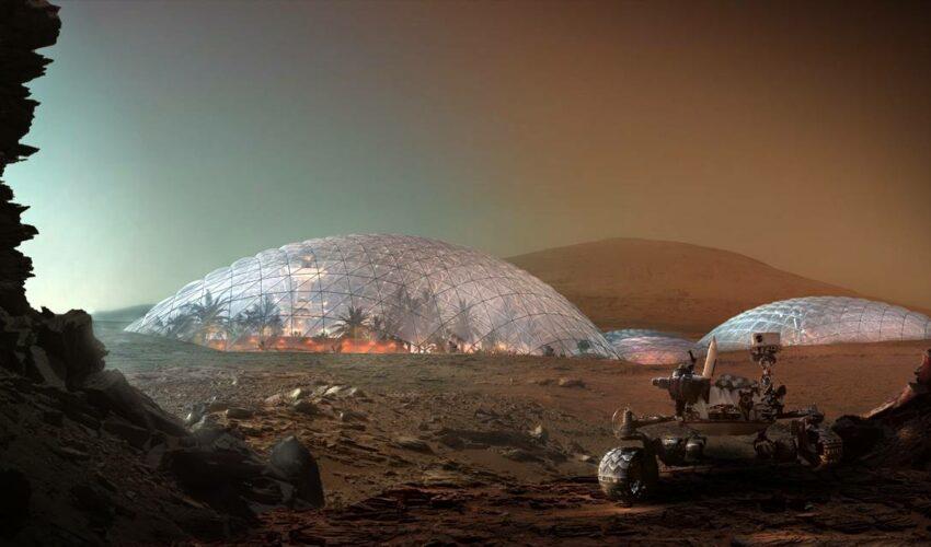 Mars Şehri Dubai Koloni