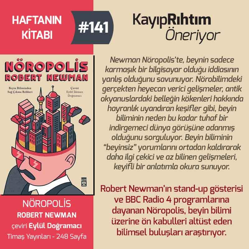 Nöropolis - Robert Newman | Haftanın Kitabı #141