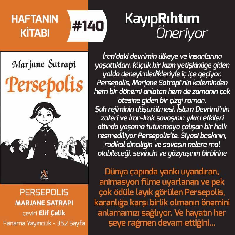 Persepolis - Marjane Satrapi | Haftanın Kitabı #140