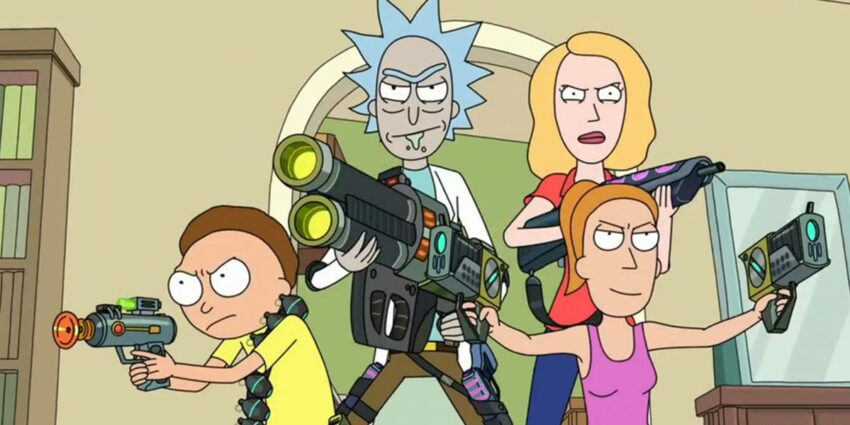 Rick and Morty Yaratıcısı Dan Harmon Yeni Animasyon