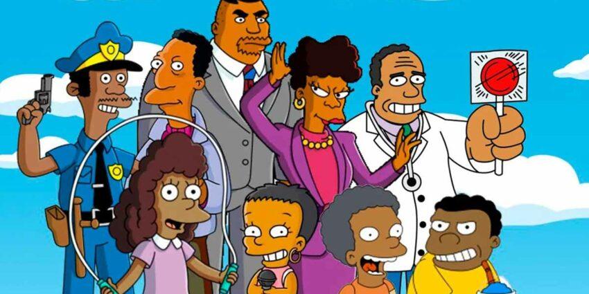 the simpsons siyah karakterler