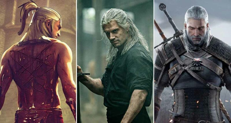 the witcher dizisi netflix oyun ve kitap