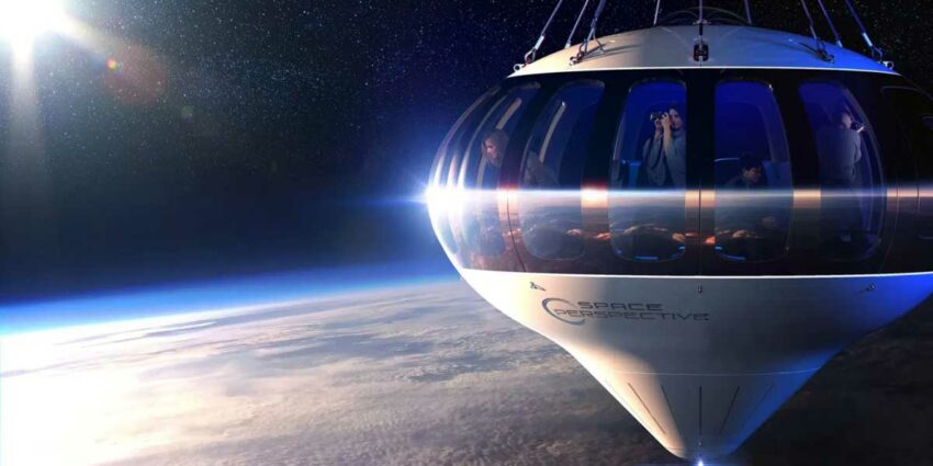 uzay turizmi balon