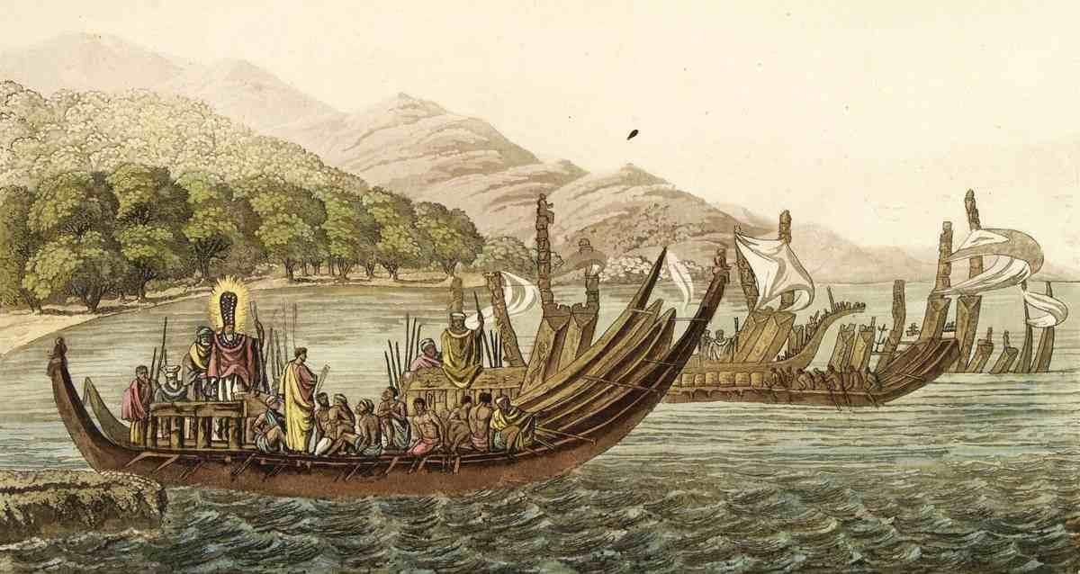 Antik Polinezyalılar - Amerika Yerlileri
