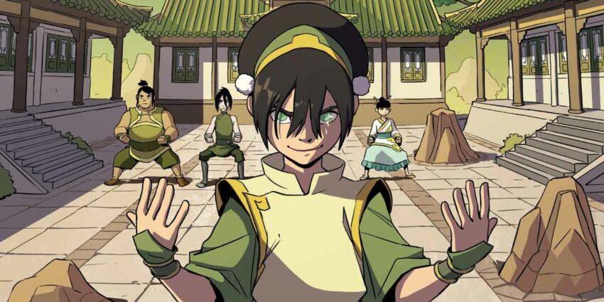 Avatar: The Last Airbender Toph Beifong's Metalbending Academy