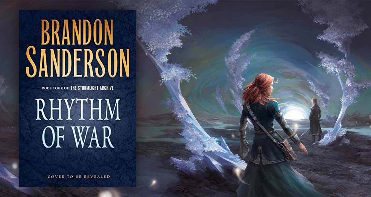 Brandon Sanderson Rhytm of War kapak Fırtınaışığı Arşivi 4. Kitap