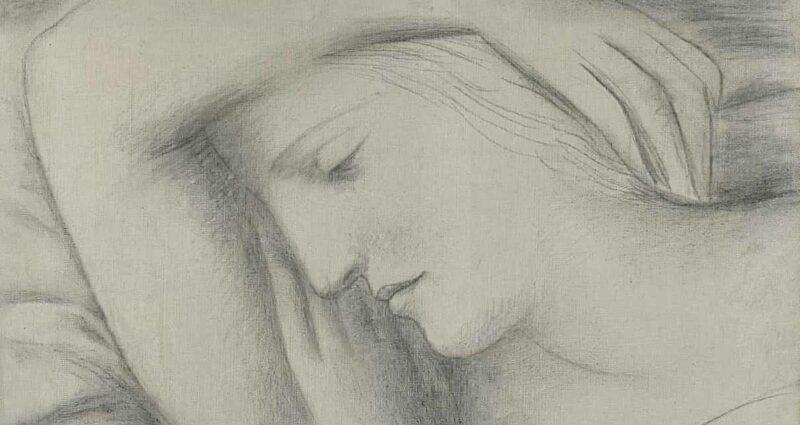 Femme endormie Pablo Picasso