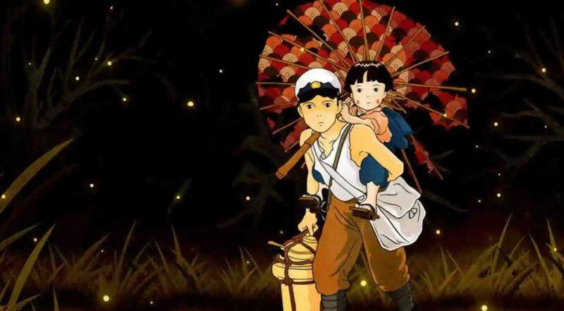 Hotaru no Haka (Grave of the Fireflies) anime