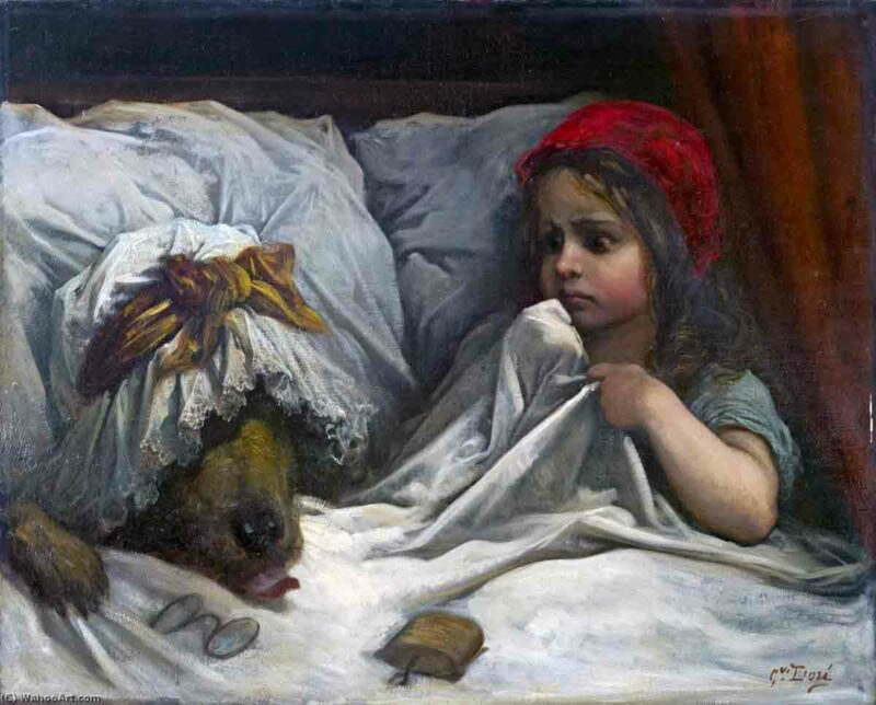 Little red riding hood Paul Gustave Doré