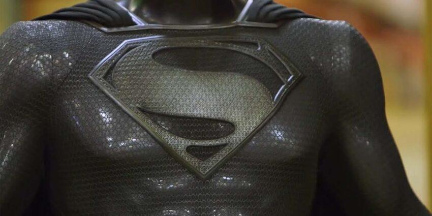 Zack Snyder's Justice League Superman Siyah Kostüm