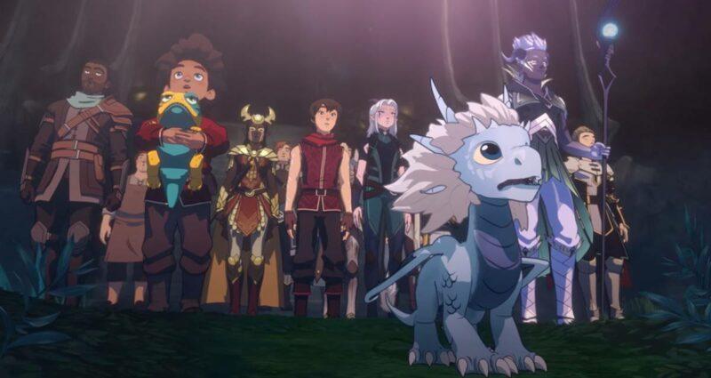 The Dragon Prince 4 Yeni Sezon