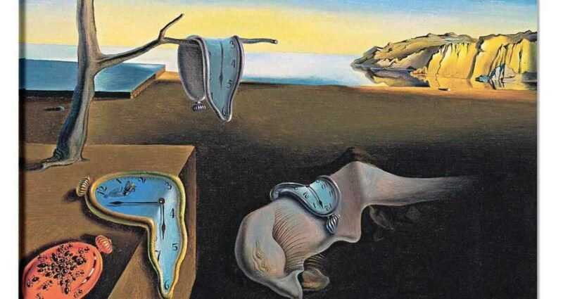 The Persistence of Memory bellegin azmi salvador dali