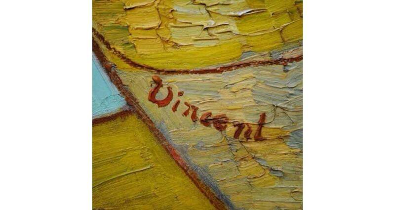 Vincent van Gogh imza