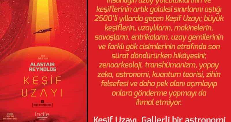 Keşif Uzayı - Alastair Reynolds | Haftanın Kitabı #142