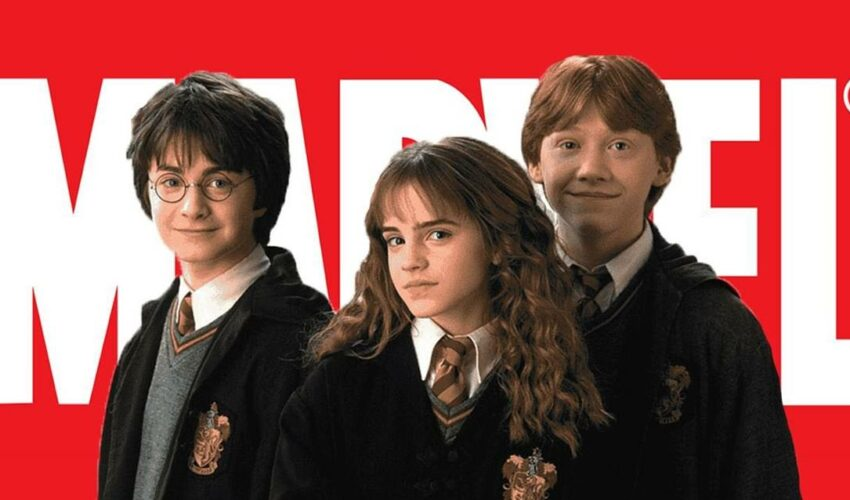 Harry Potter Marvel Çizgi Roman Excalibur 3