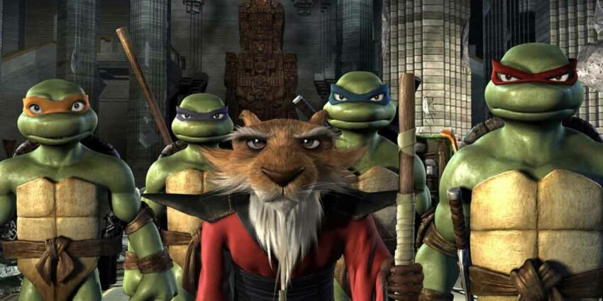 Ninja Kaplumbağalar Animasyon Filmi