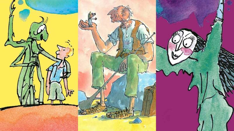 roald dahl çocuk kitapları