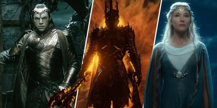 Yüzüklerin Efendisi Sauron, Galadriel Elrond