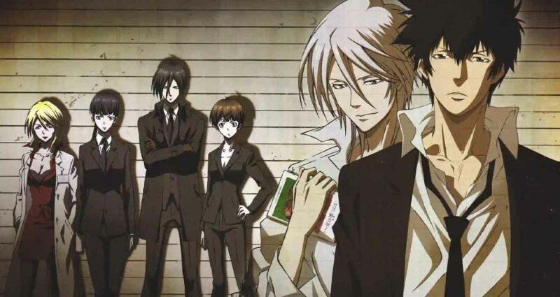 Psycho-Pass anime aksiyon