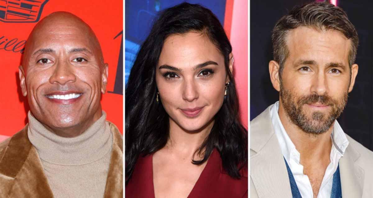 Red Notice - Netflix - Dwayne Johnson Ryan Reynolds