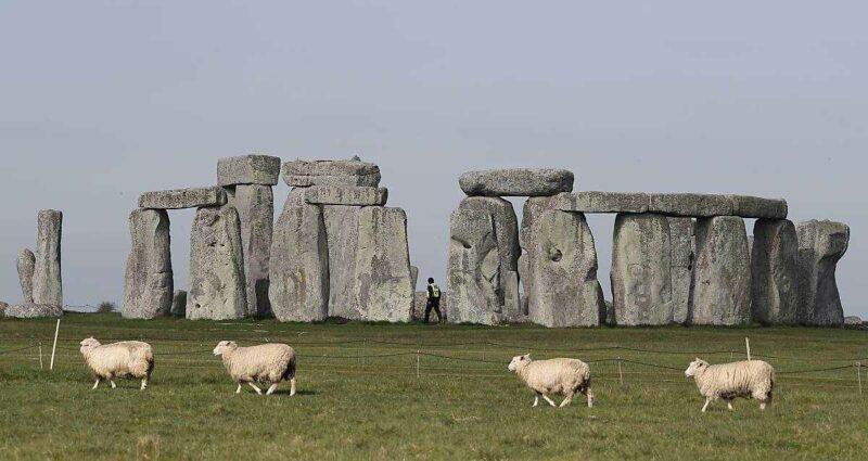 Stonehenge Anıtı Taşları