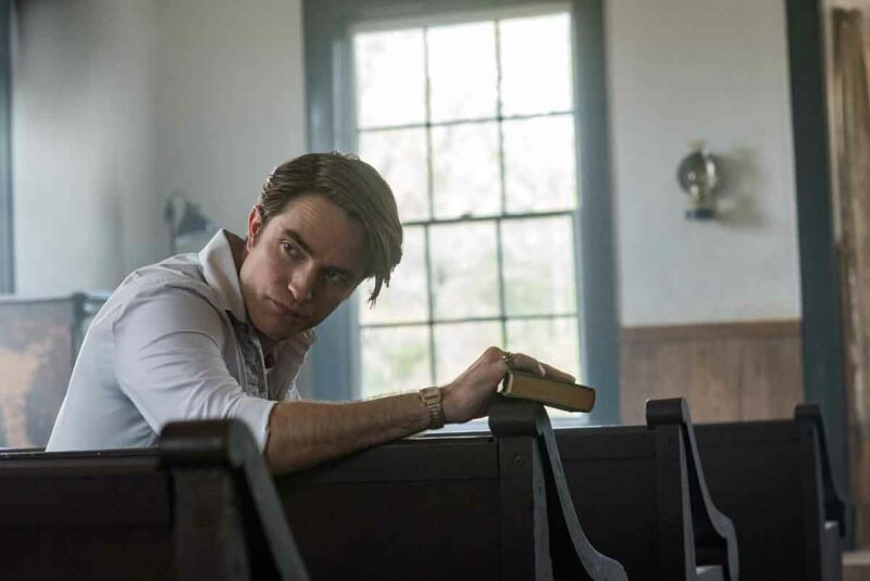 The Devil All the Time Robert Pattinson