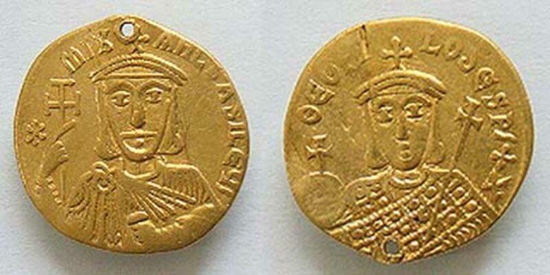 Theophilus altın sikkeleri