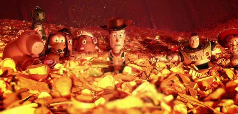 Toy Story 3 fırın sahnesi