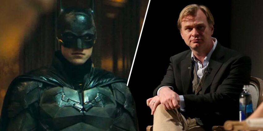 christopher nolan the batman robert pattinson