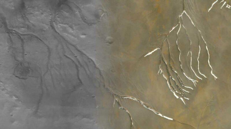 mars su yüzeyi eski