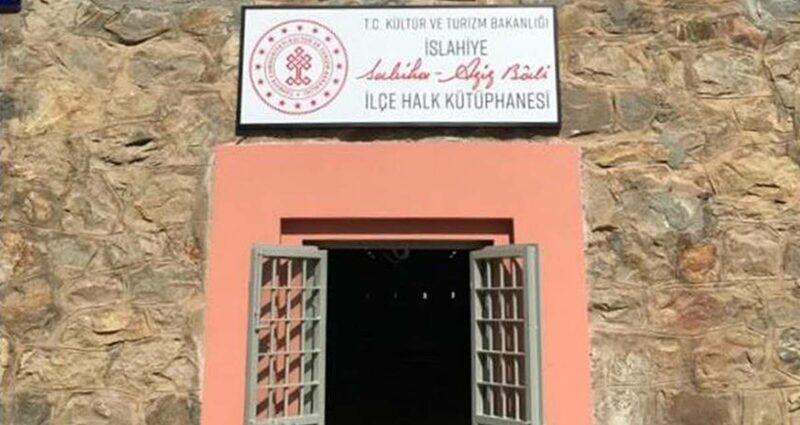 İslahiye Sabiha-Aziz Bali İlçe Halk Kütüphanesi Gaziantep Cezaevi
