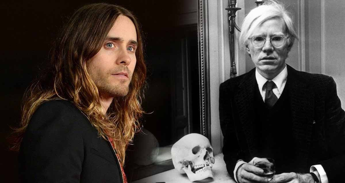 jared leto andy warhol