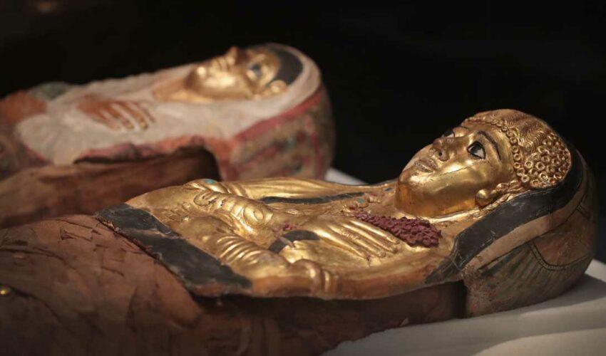 Antik Mısır Mumyaları Küçük