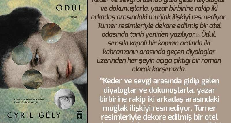 Ödül - Cyril Gely | Haftanın Kitabı #146
