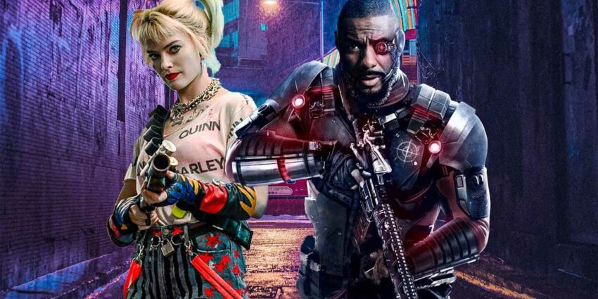 the suicide squad kamera arkası
