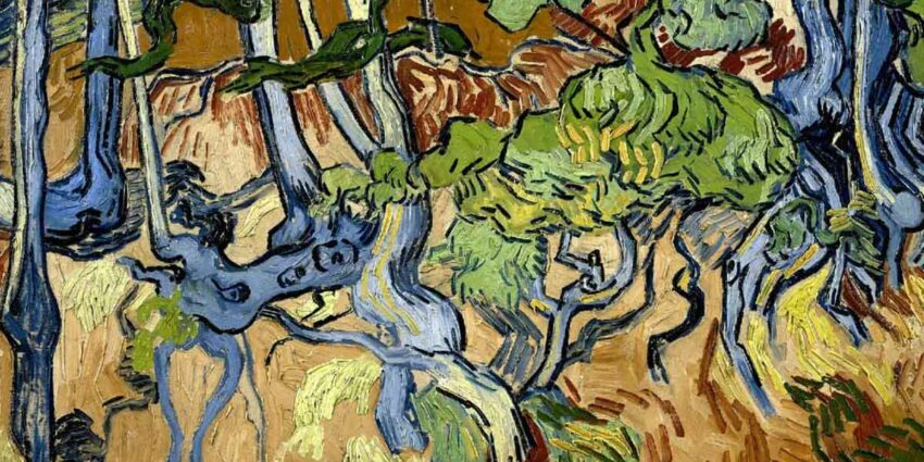 tree roots vincent van gogh