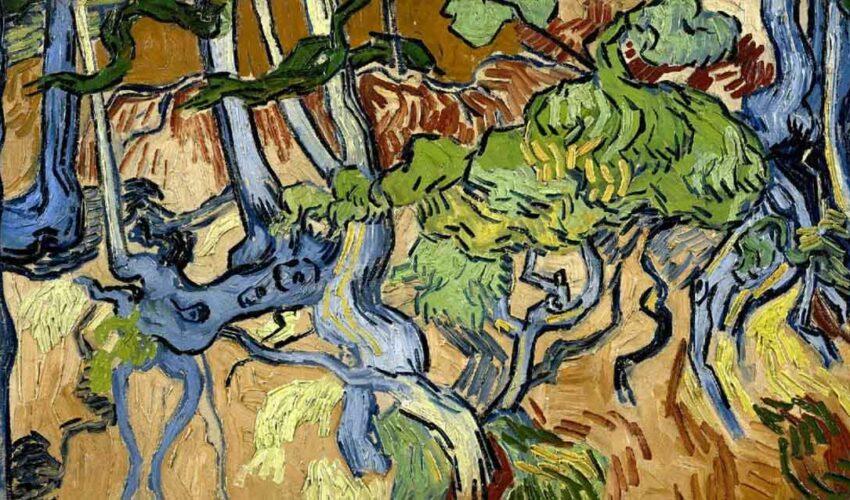 tree roots vincent van gogh