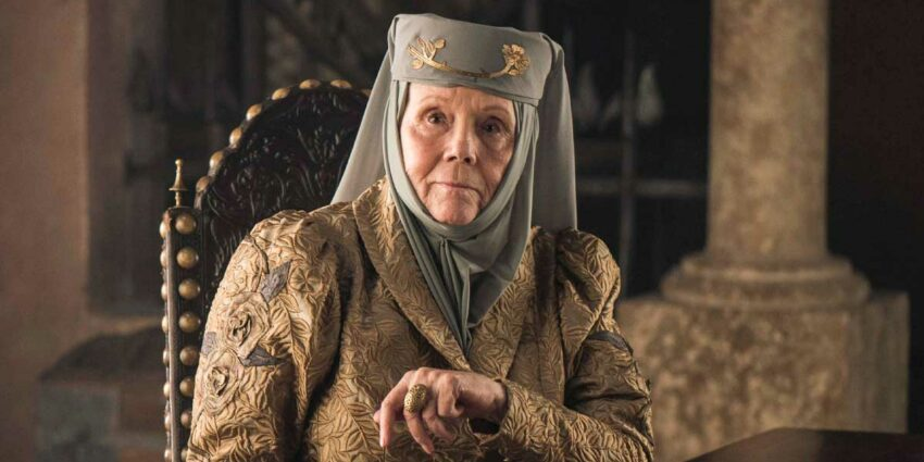 Game of Thrones Oyuncusu Diana Rigg