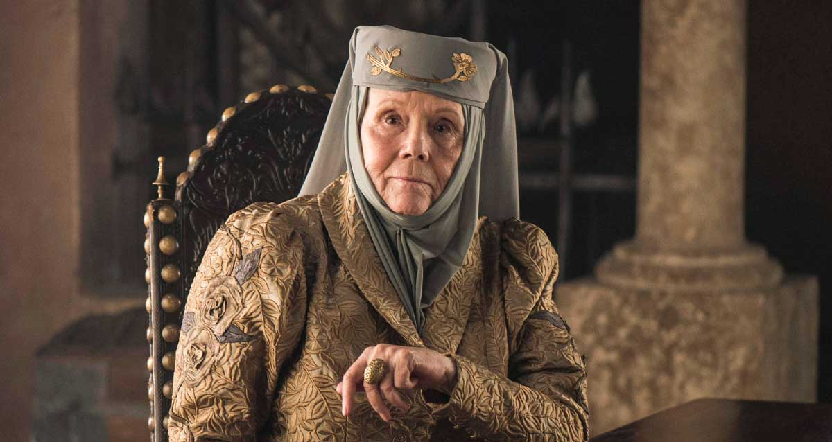 Game of Thrones Oyuncusu Diana Rigg