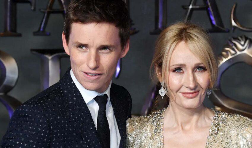 Eddie Redmayne J.K. Rowling