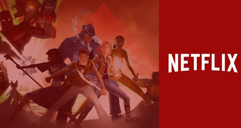 Kane Chronicles Film Netflix - Rick Riordan