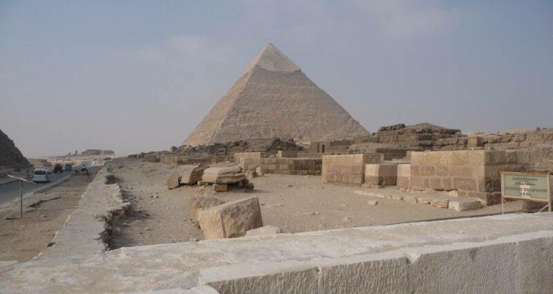 Khafre piramit