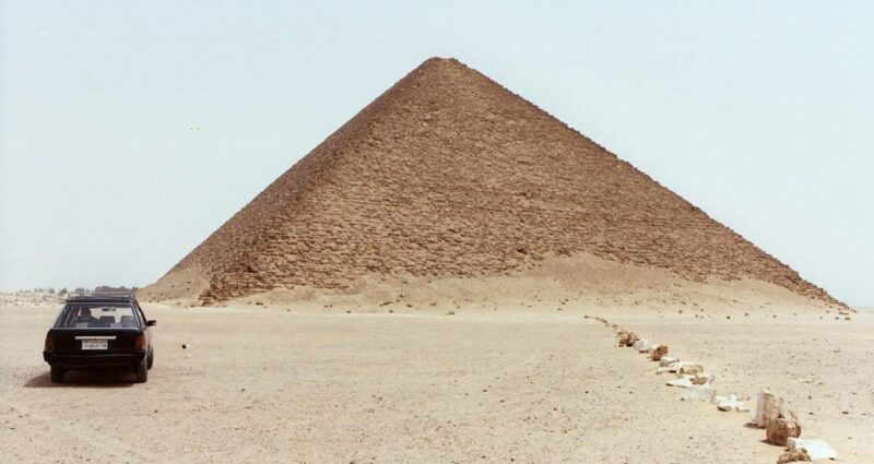 Pyramide voiture