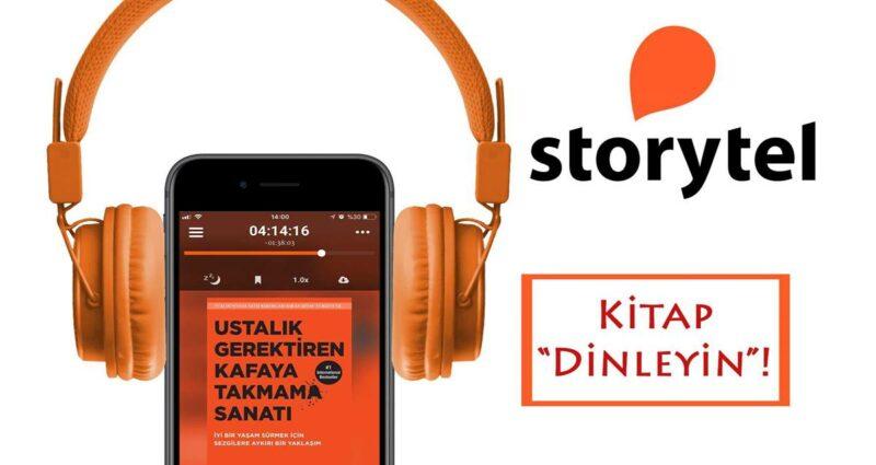 Storytel - Sesli Kitap Uygulamaları