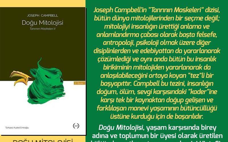 Doğu Mitolojisi - Joseph Campbell | Haftanın Kitabı #149