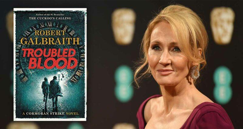 J.K. Rowling Cormoran Strike trans seri katil