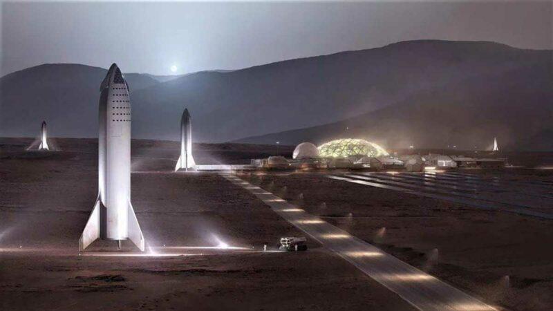 Elon Musk Mars'ın Kolonileştirilmesi